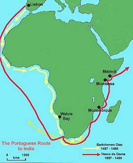 Princy Henry The Navigator Lessons Tes Teach - Portugal india map