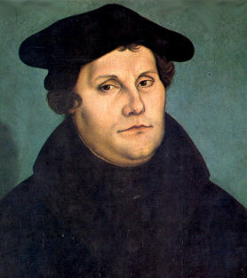 a comparison between martin luther and calvins beliefs Martin luther king and john calvin were both very important leaders of the protestant although they were both against the roman catholic church, they brought aboutvery different ideas in religion martin luther founded the group that are today known as lutherans.