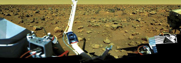 The surface of Mars as photographed by the Viking lander � NASA