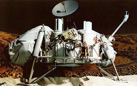 A Viking lander � NASA