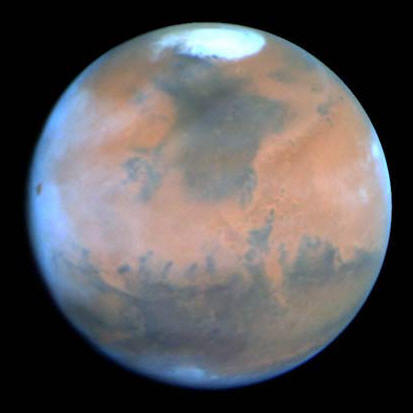 Mars, the Red planet © NASA